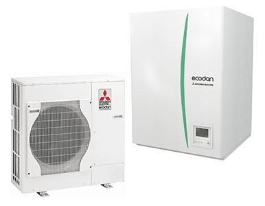 Ecodan luft til vand-varmepumper